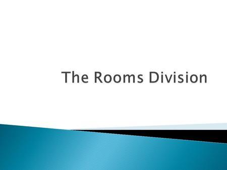 Racking System: Old shelving system: Keeps track of each room Property Management System (PMS) Customer database solution for hotels.