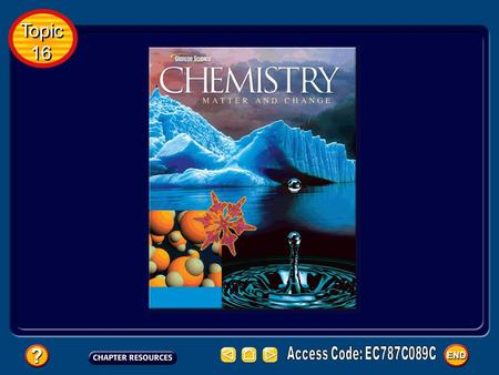 Topic 16 Topic 16 Topic 16: Stoichiometry Basic Concepts Additional Concepts Table of Contents Topic 16 Topic 16.