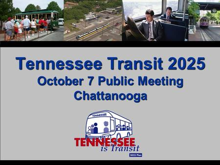 Tennessee Transit 2025 October 7 Public Meeting Chattanooga.
