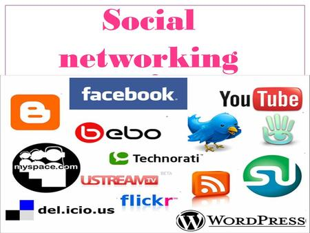 Social networking. A social networking service is an online service, platform, or site that focuses on facilitating the building of social networks.