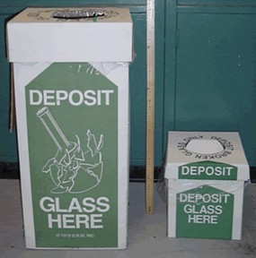 Glass Disposal Container
